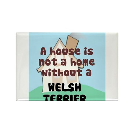 Welsh Terrier Home Rectangle Magnet