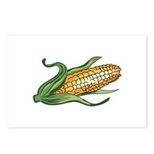 CORN ON THE COB Postcards (Package of 8)