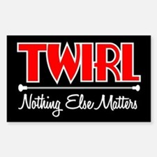Twirl Rectangle Decal