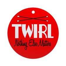 Twirl Ornament (Round)