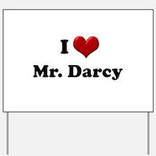 Cute Mr darcy Yard Sign
