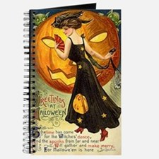 Witch & Jack-O-Lantern Journal