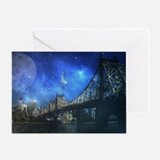 Queensboro bridge - NYC Greeting Card