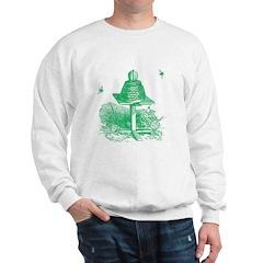 The Hive in Green Sweatshirt