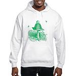 The Hive in Green Hooded Sweatshirt