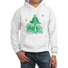 The Hive in Green Hoodie