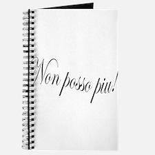 "Non Posso Piu - from Puccini's Tosca - ""I Journal"