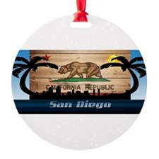 San Diego Skyline Ornament
