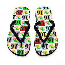 Super Sweet 16 Flip Flops