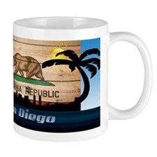 San Diego Skyline Mugs