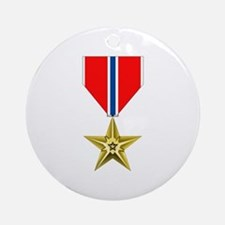 BRONZE STAR MEDAL Ornament (Round)