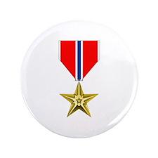 "BRONZE STAR MEDAL 3.5"" Button (100 pack)"