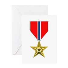 BRONZE STAR MEDAL Greeting Cards