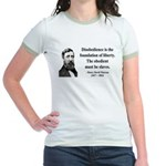 Henry David Thoreau 14 Jr. Ringer T-Shirt