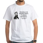Henry David Thoreau 14 White T-Shirt