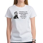 Henry David Thoreau 14 Women's T-Shirt