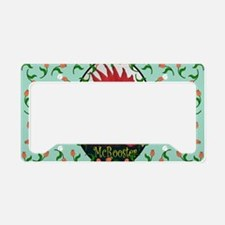 Chico Rect, turq License Plate Holder