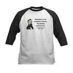 Henry David Thoreau 14 Kids Baseball Jersey