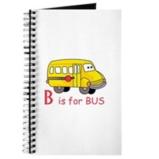 B Is For Bus Journal