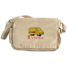 B Is For Bus Messenger Bag