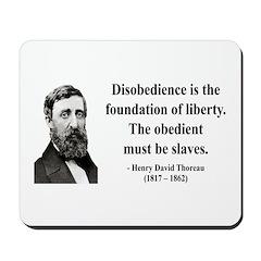 Henry David Thoreau 14 Mousepad