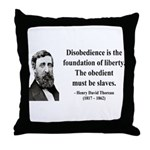 Henry David Thoreau 14 Throw Pillow