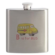 B Is For Bus Flask