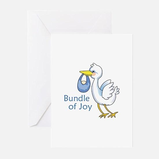 Bundle Of Joy Greeting Cards