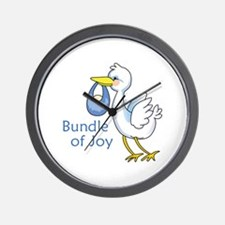 Bundle Of Joy Wall Clock