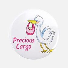 """Precious Cargo 3.5"""" Button"""