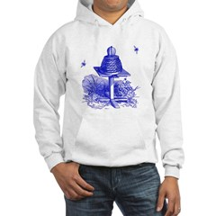 The Hive in Blue Hoodie