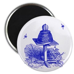"""The Hive in Blue 2.25"""" Magnet (10 pack)"""