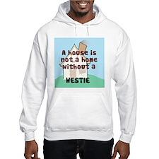 Westie Home Hoodie
