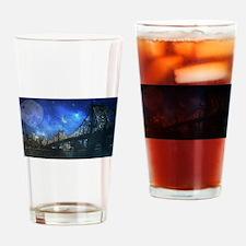 Queensboro bridge - NYC Drinking Glass