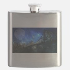 Queensboro bridge - NYC Flask