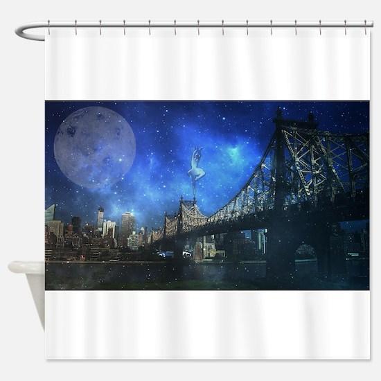 Queensboro bridge - NYC Shower Curtain