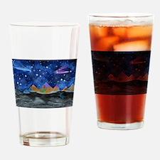 Starry Night Drinking Glass