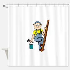 Painter Shower Curtain