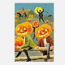 Jack-O-Lantern Fun Postcards (Package of 8)