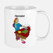 Phone Operator Mugs
