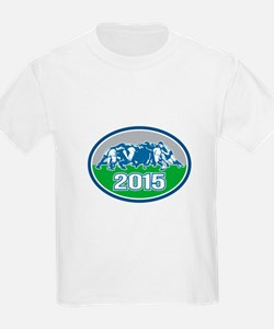 Rugby Scrum 2015 Oval T-Shirt