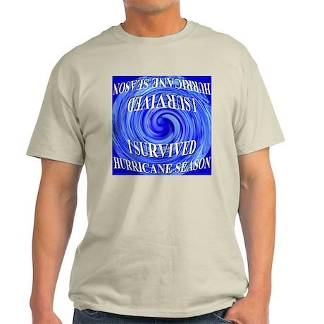I Survived Hurricane Season 2 Light T-Shirt