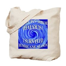 I Survived Hurricane Season 2 Tote Bag