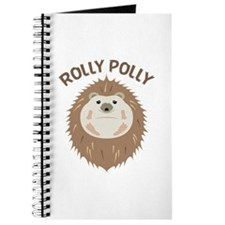 Hedgehog Rolly Polly Journal