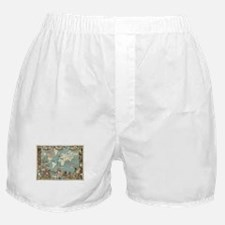 British Empire map 1886 Boxer Shorts
