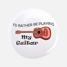 "MY GUITAR 3.5"" Button"