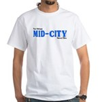 Mid CityWhite T-Shirt