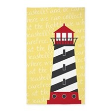 Lighthouse Yellow Area Rug