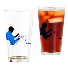 Technician Drinking Glass
