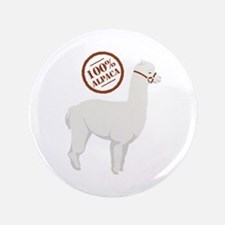 """100% Alpaca 3.5"""" Button"""